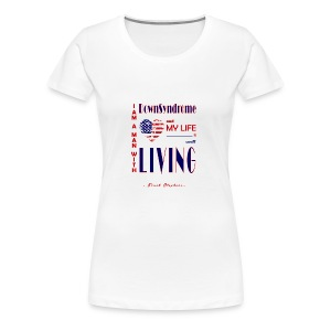 TeeHeart DownSyndrome05 - Women's Premium T-Shirt