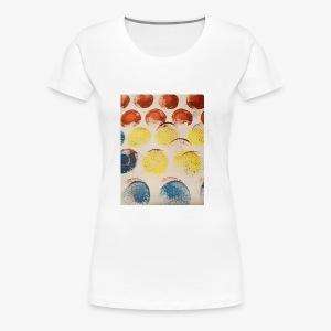 circles of colour - Women's Premium T-Shirt