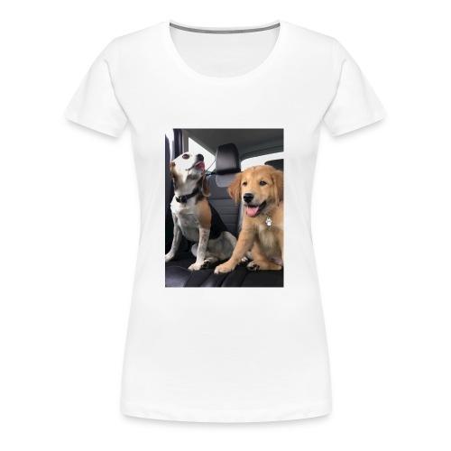 My dogs - Women's Premium T-Shirt
