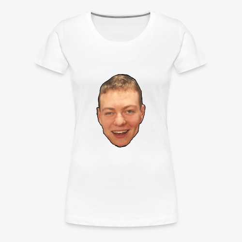Kyle's Face on White - Women's Premium T-Shirt