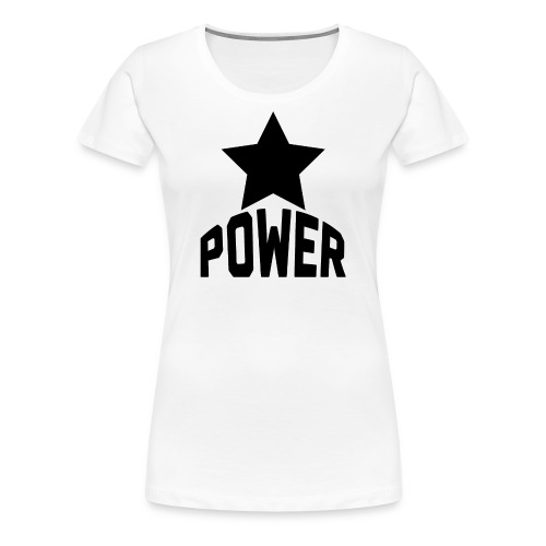 Black Star Power - Women's Premium T-Shirt