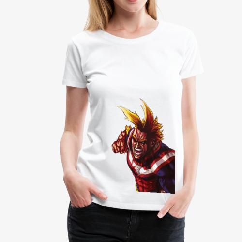 All Might - Boku no Hero Academia - Women's Premium T-Shirt