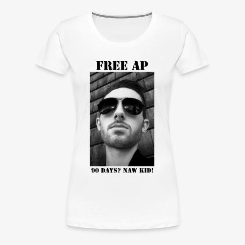 OG Free AP - Women's Premium T-Shirt