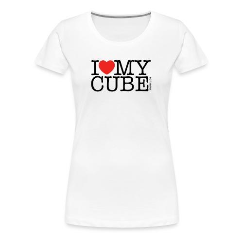 I Love My Cube - Women's Premium T-Shirt