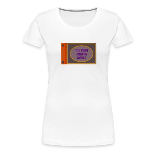 Grape Soda Club Podcast Adventure Book - Women's Premium T-Shirt