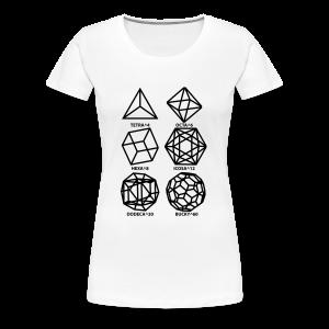 SHAPES^x - Women's Premium T-Shirt
