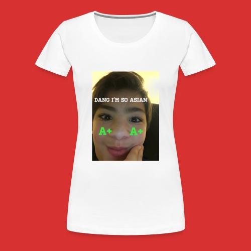Asian guy - Women's Premium T-Shirt