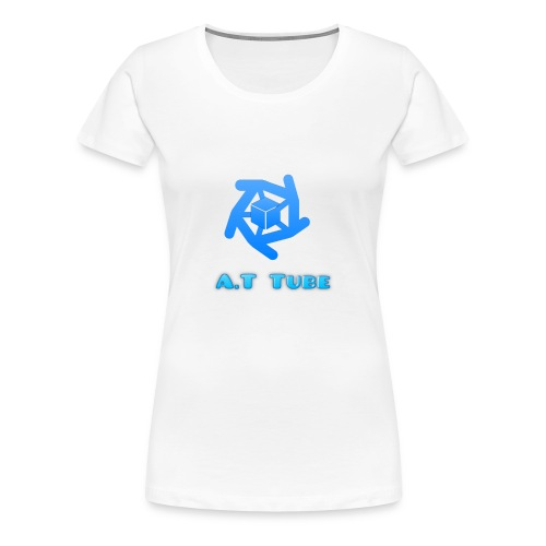 A.T Tube (White) - Women's Premium T-Shirt