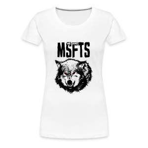 WeAreMSFTS Pack of Misfits Logo - Women's Premium T-Shirt