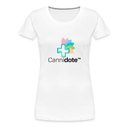 3 CANNIDOTE - Women's Premium T-Shirt