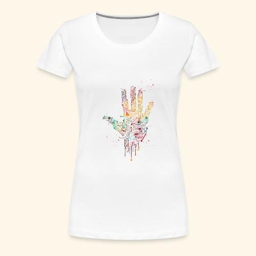 Circuit Hand - Women's Premium T-Shirt