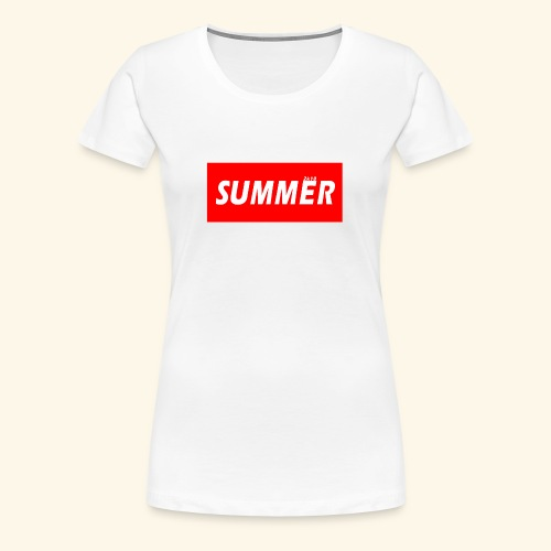 Summer 2k18 - Women's Premium T-Shirt
