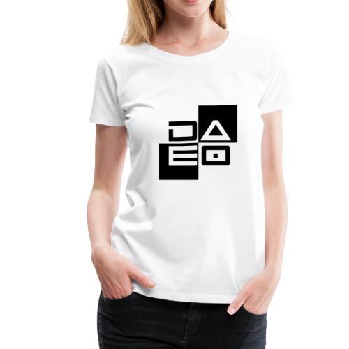 DAE0 logo with pointed edges - Women's Premium T-Shirt