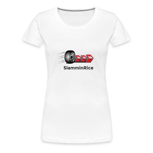 SlamminRice Tire shirts - Women's Premium T-Shirt