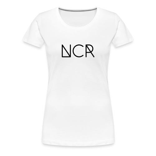 Black Logo NCR - Women's Premium T-Shirt