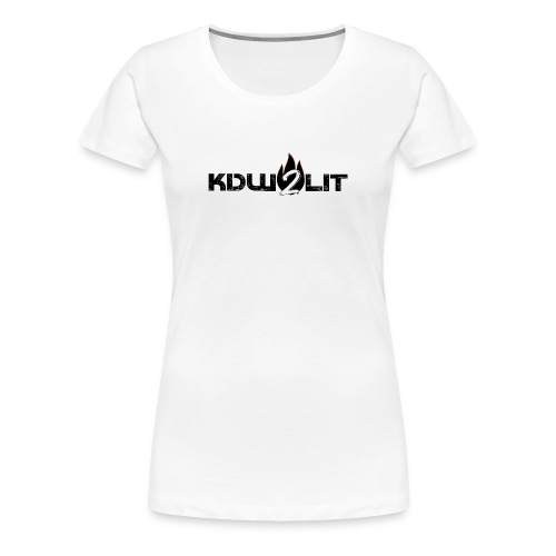 KDW2Lit - Women's Premium T-Shirt