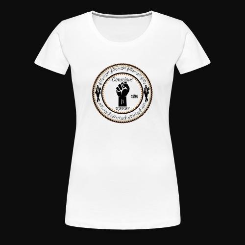 CONSCIOUS REBEL CLOTHING - Women's Premium T-Shirt