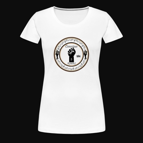 CONSCIOUS REBEL CLOTHING - Women's Premium T-Shirt