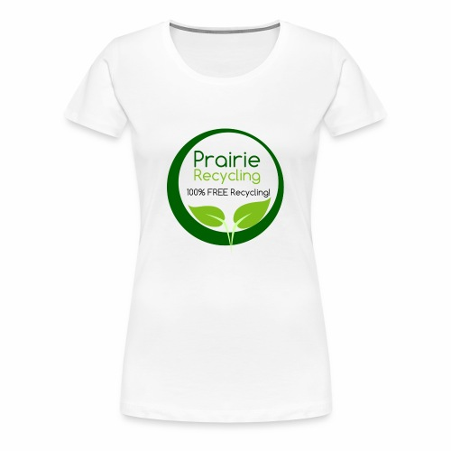 Prairie Recycling Official Logo - Women's Premium T-Shirt