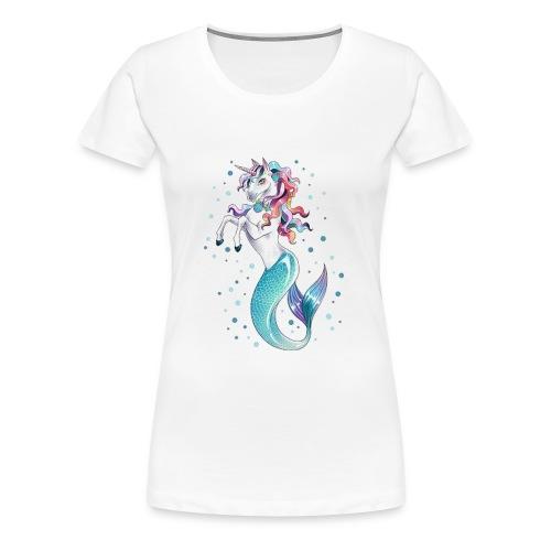 unicorn mermaid - Women's Premium T-Shirt