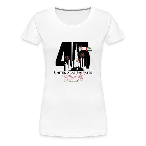 UAE 45 National Union Day - Women's Premium T-Shirt
