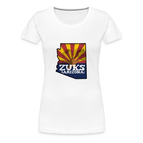Zuks of Arizona Official Logo - Women's Premium T-Shirt