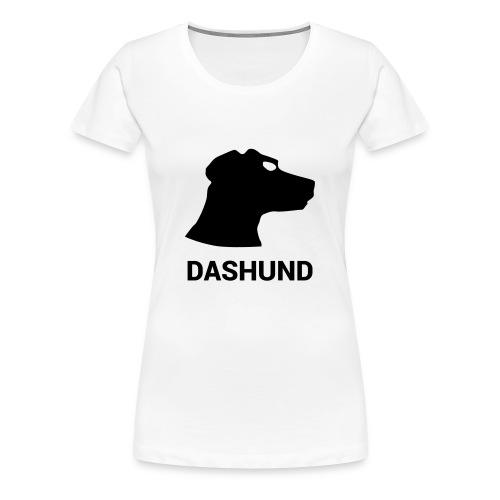 DASHUND - Women's Premium T-Shirt