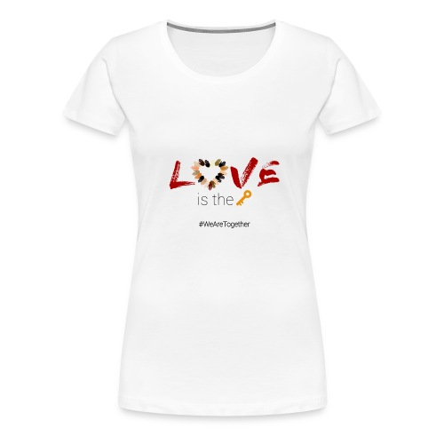 Love Is The Key - Women's Premium T-Shirt