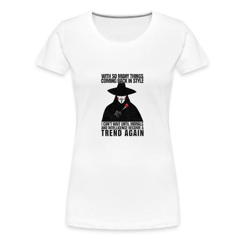 VENDETTA - Women's Premium T-Shirt