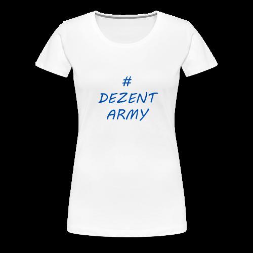 DEZENT-ARMY-BLAU - Women's Premium T-Shirt