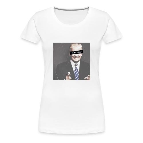Donald Trump Genius - Women's Premium T-Shirt
