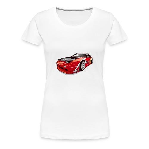 cars drift - Women's Premium T-Shirt