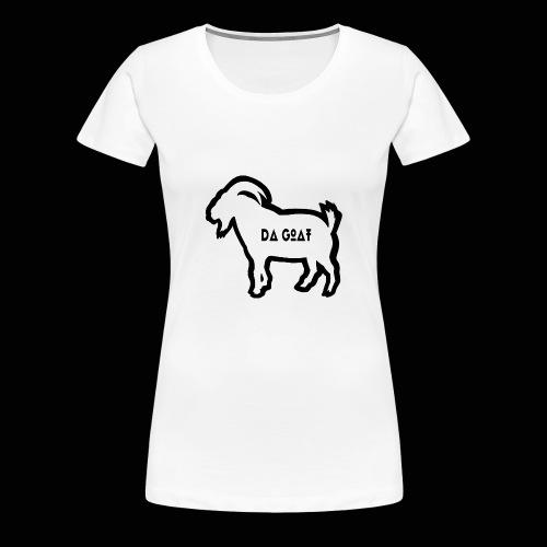 Tony Da Goat - Women's Premium T-Shirt