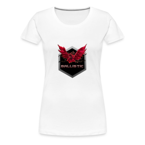 Ballistic logo Dragon glowing - Women's Premium T-Shirt
