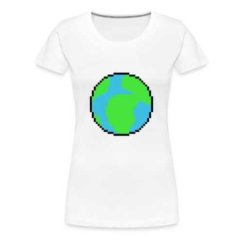 Earth - Women's Premium T-Shirt
