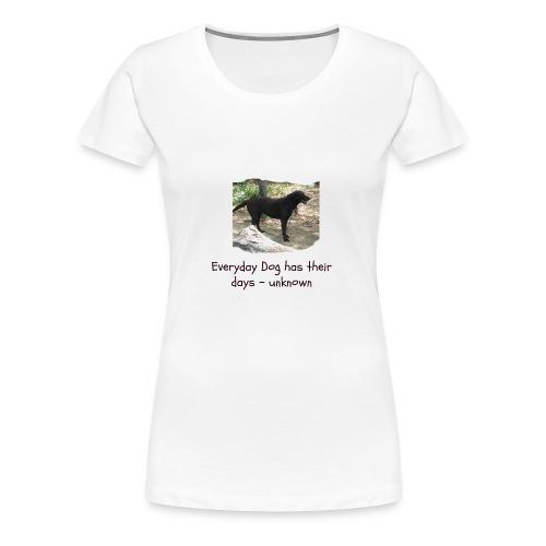doggie - Women's Premium T-Shirt