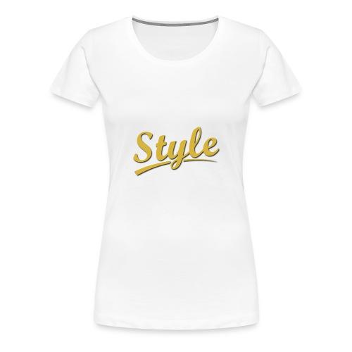 Step in style merchandise - Women's Premium T-Shirt
