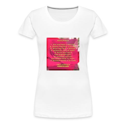Girl Power Too! - Women's Premium T-Shirt
