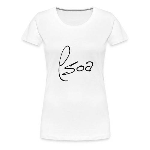 Logo Design (Black) - Women's Premium T-Shirt