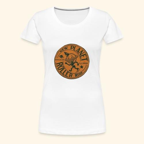 Skate geex chi II - Women's Premium T-Shirt