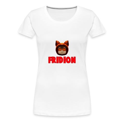 Fridion Button - Women's Premium T-Shirt
