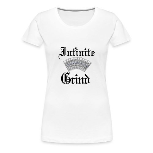 Infinite Bands Black ink - Women's Premium T-Shirt