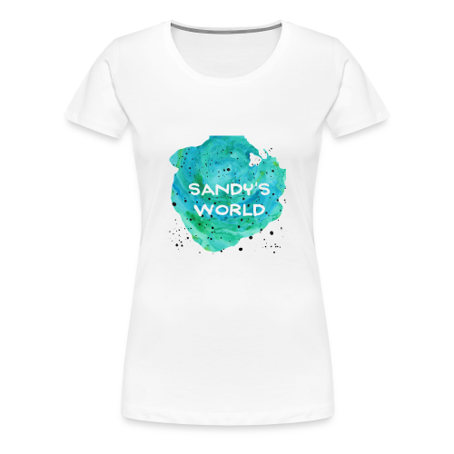Sandy's World - Women's Premium T-Shirt