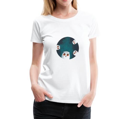 Mysterious Night Owls - Women's Premium T-Shirt