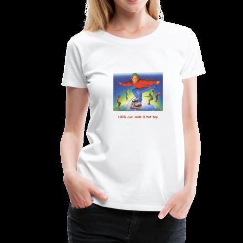 hot boy t-shirt - Women's Premium T-Shirt