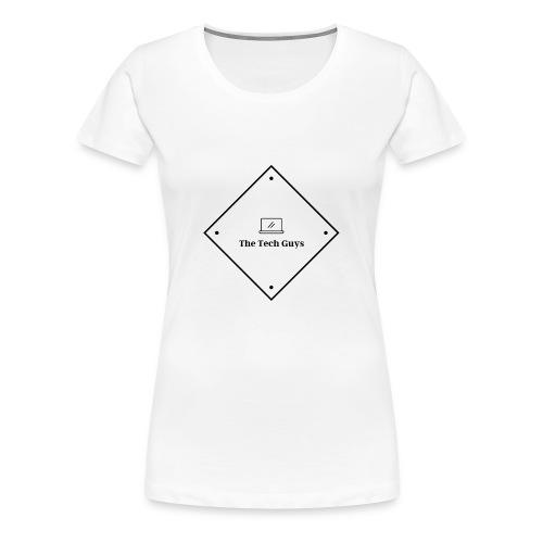 The Tech Guys Logo Dark - Women's Premium T-Shirt