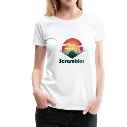Mountain Scrambler - Women's Premium T-Shirt