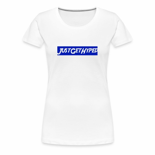 JustGetHyped Supreme Type - Women's Premium T-Shirt