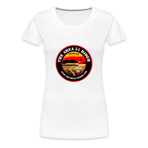 NEW Area 51 Rider Logo - Women's Premium T-Shirt