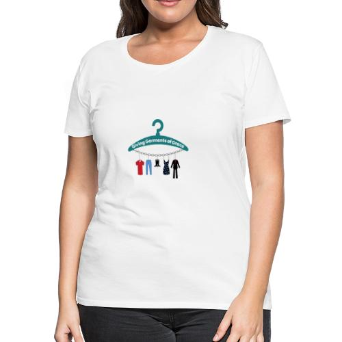 Giving Garments of Grace - Women's Premium T-Shirt